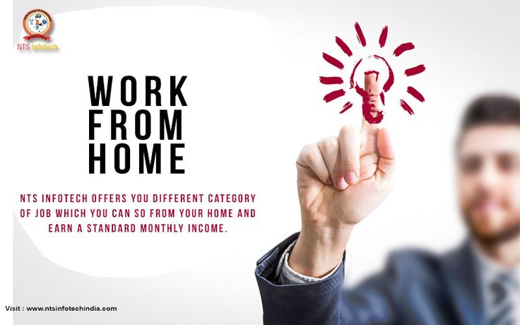NTS INFOTECH offers you different category of job which you can so from your home and earn a standard monthly income For More Visit : www.ntsinfotechindia.com