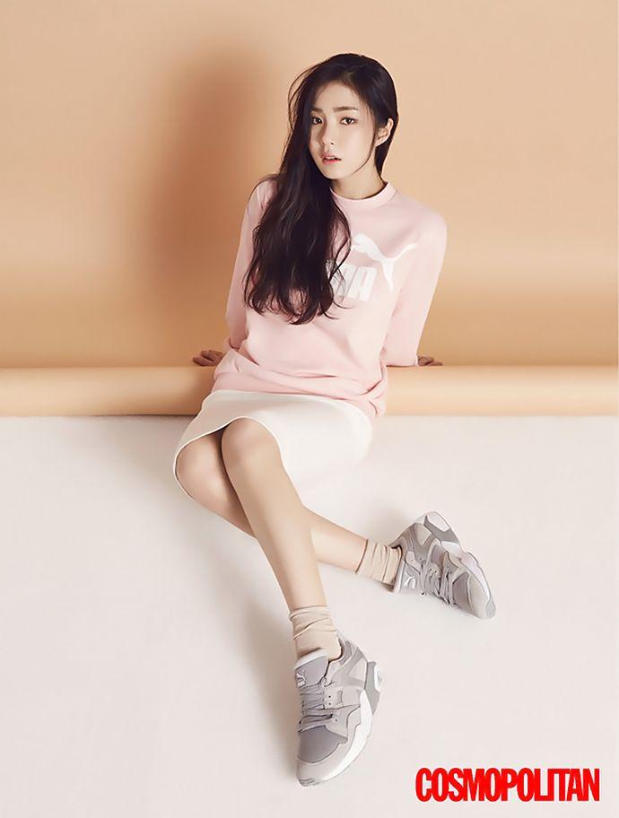 Shin Se Kyung Shows Off Her Love for PUMA in Cosmopolitan Korea | Couch Kimchi