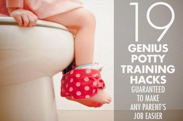 19 Genius Potty Training Hacks Guaranteed To Make Any Parent's Job Easier