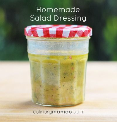 My Signature Homemade Salad Dressing