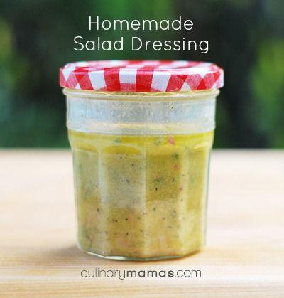 My Signature Homemade Salad Dressing: A basic vinaigrette that will make any salad awesome!   culinarymamas.com