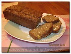 Yulaf Kepeği Ekmeği Tarifi » Dukan Diyeti Yemek Tarifleri
