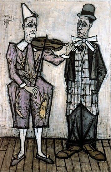 Bernard BUFFET ( 1928 - 1999 ) - Peintre Francais -