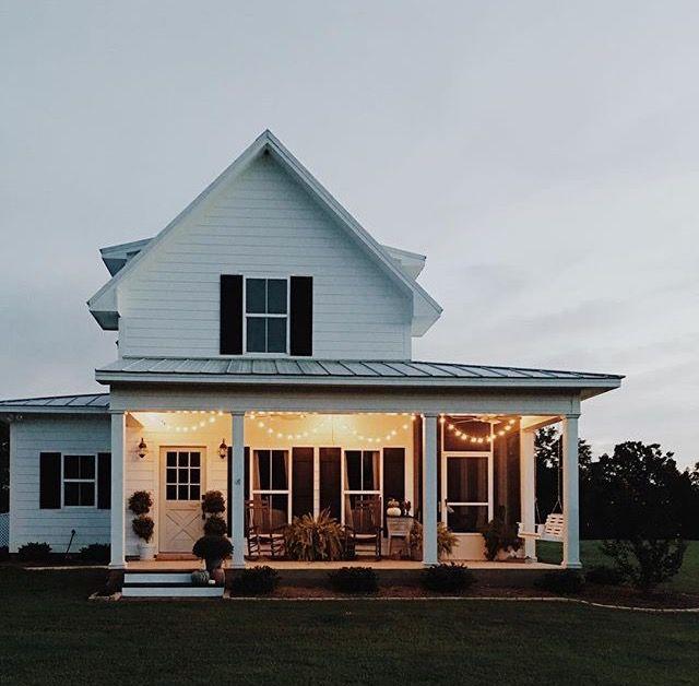 porch + farmhouse + light deck