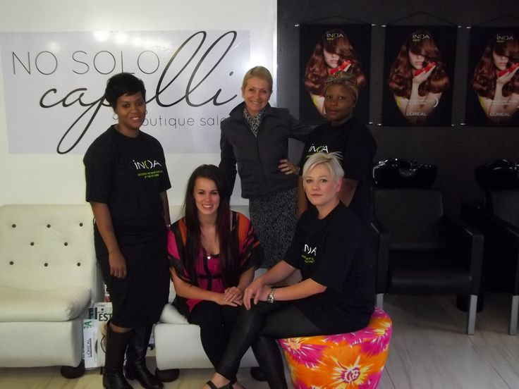 Meet our team at No Solo Capelli