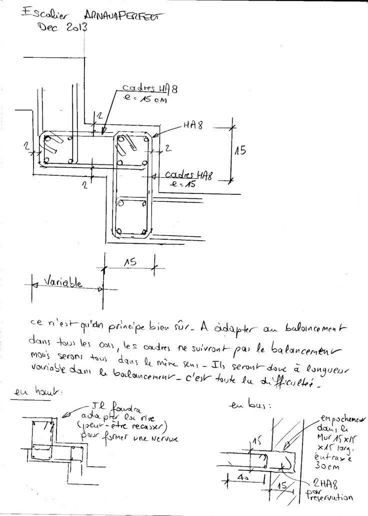 Les 25 meilleures id es de la cat gorie coffrage escalier beton sur pinterest coffrage beton - Plan de coffrage ...