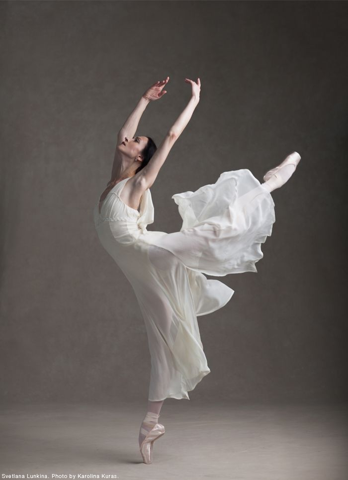 Svetlana Lunkina was born in Moscow, Russia. Before joining The National Ballet of Canada as a Principal Dancer in 2014 she was a Principal with the Bolshoi Ballet.