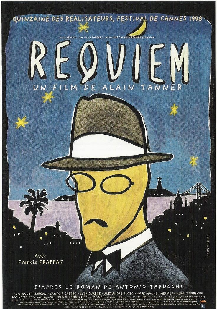 Il film tratto dall'omonimo romanzo di Tabucchi, Requiem