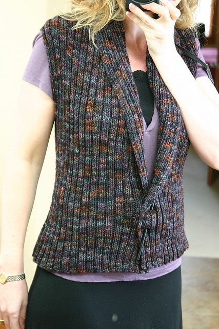 Knitted Vests Free Patterns : 17 Best ideas about Knit Vest Pattern on Pinterest Knit vest, The vest and ...