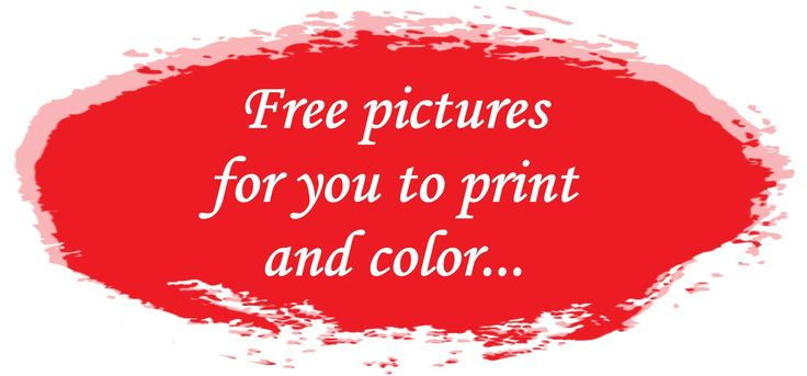 Free pictures for coloring on my new site