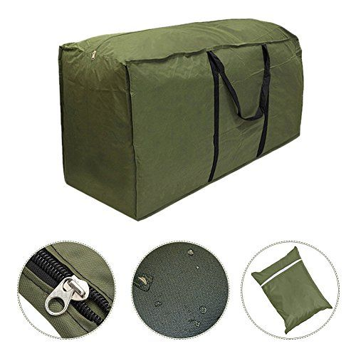 Bon Outdoor Patio Furniture Seat Cushion Storage Bag Waterproof Lightweight  Carry Case | Seat Cushions, Patios And Storage