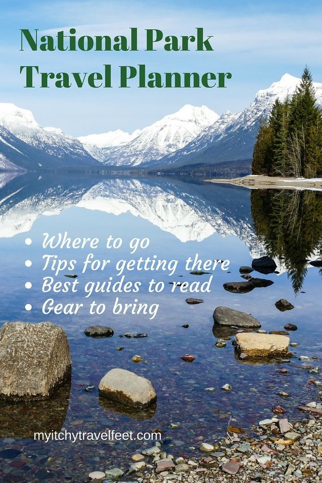 This National Park Travel Planner offers travel tips like where to go, tips for getting there, best guides to read and gear to bring. #travel #nationalparks #boomers