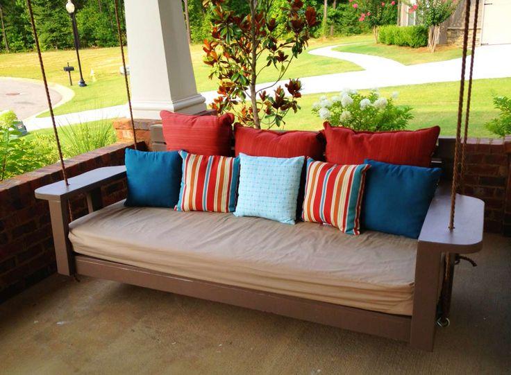 Amazing Modern Porch Swings ~ http://www.lookmyhomes.com/modern-porch-swings-ideas/