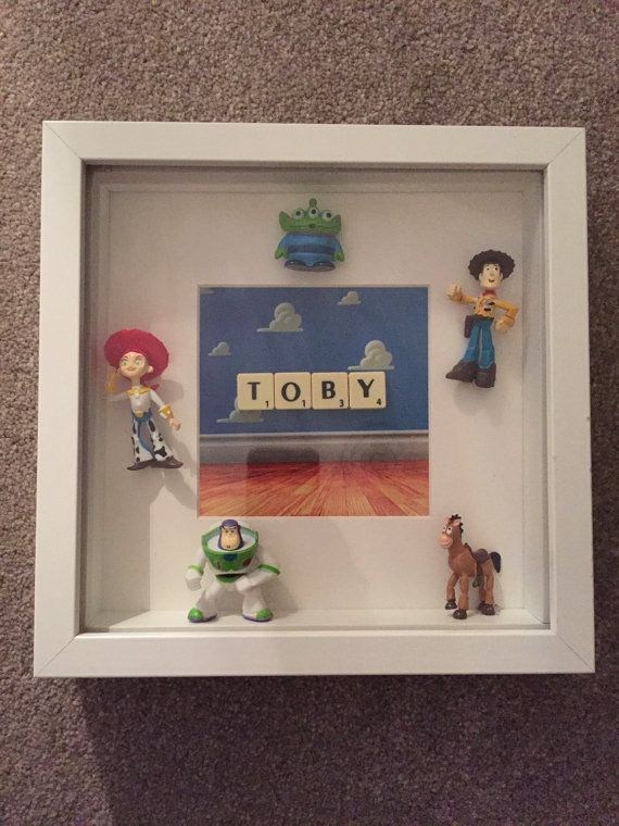 Toy Story personalised frame perfect for any boy/girls room