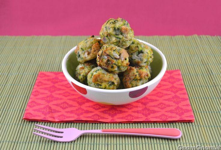• Polpette di zucchine al forno - Ricetta Polpette di zucchine al forno