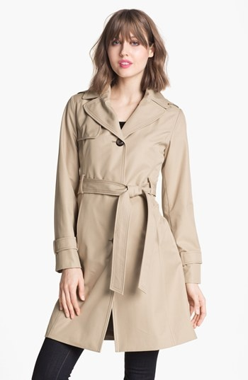 Collection Ellen Tracy Trench Coat with Detachable Hood available at #Nordstrom