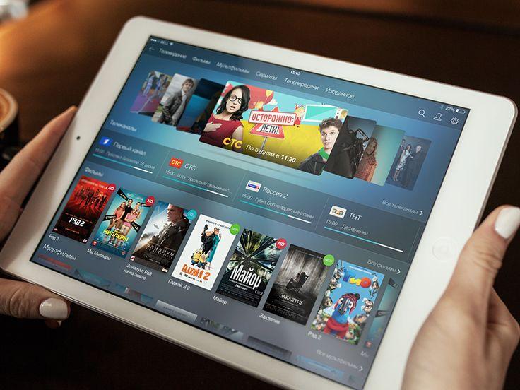 Nemo TV for iPad one shot on Behance