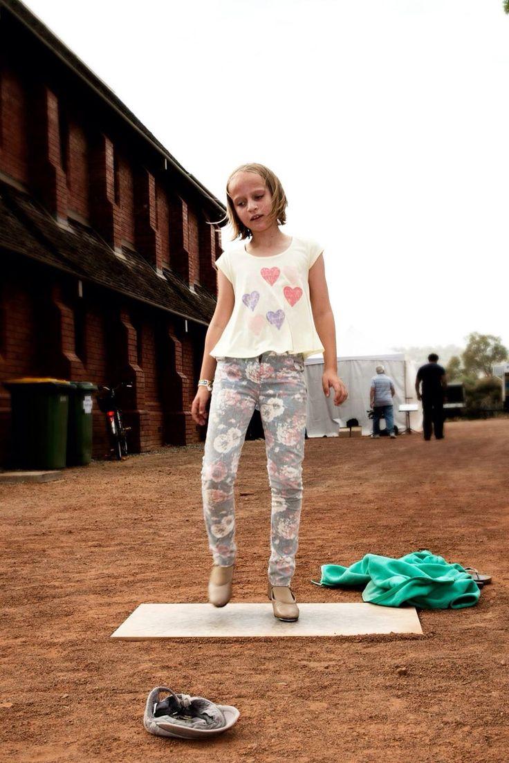 Tap dancing! Fairbridge Festival 2014