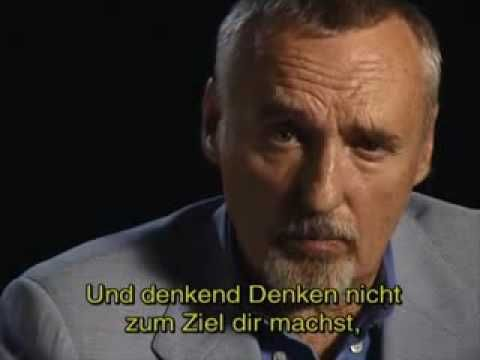 """Dennis Hopper recites """"If"""" by Rudyard Kipling (The subtitles can be turned…"""