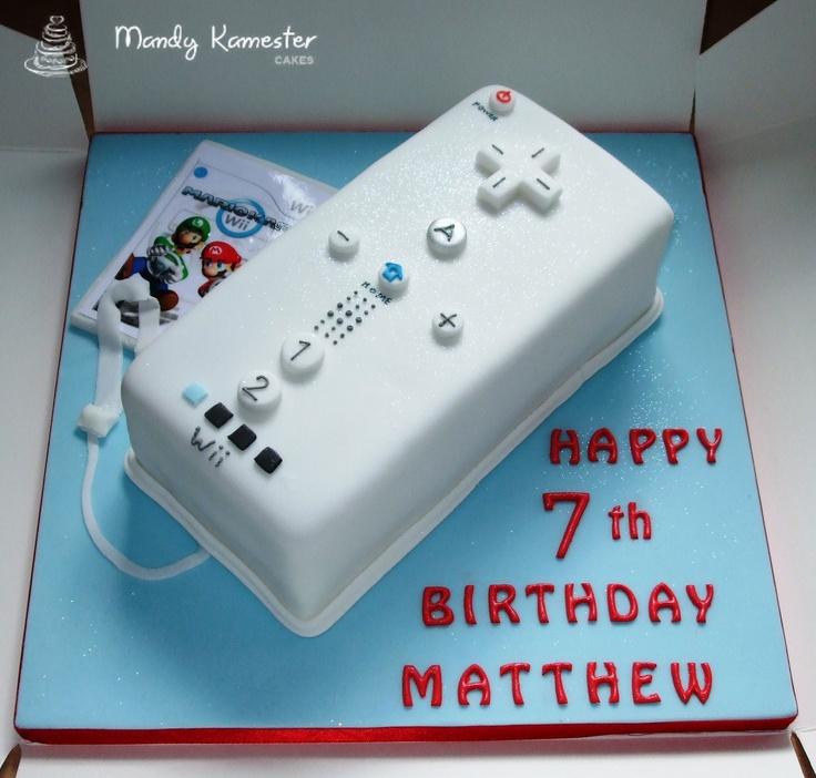 Wii Cake Bryson 10 Year Old Birthday Ideas Pinterest