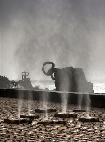 El peine de los vientos. Donostia. Euskadi