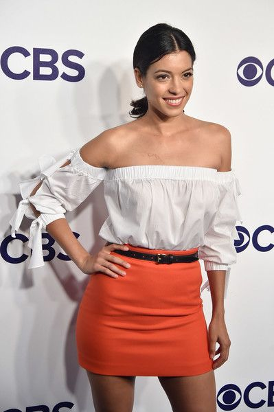 Stephanie Sigman Photos - Stephanie Sigman attends the 2017 CBS Upfront on May 17, 2017 in New York City. - 2017 CBS Upfront