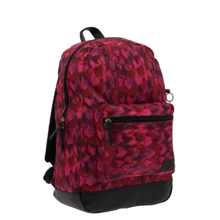 Mochila con estampado de varios tonos modelo 5m6 de la coleccion tocax, una mochila escolar de gran calidad, Tottto es de los mejores fabricantes de mochilas