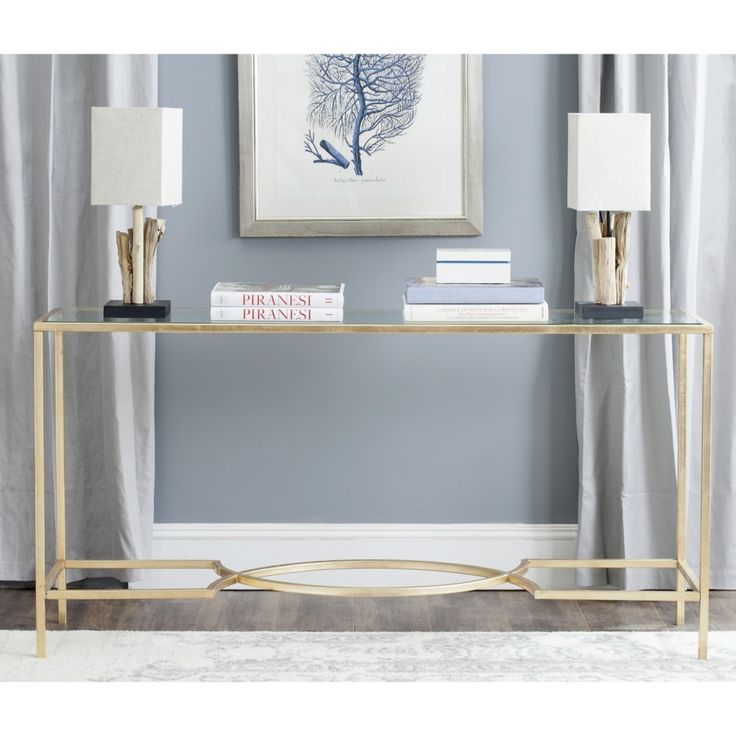 Dramatic In A Living Room Or Entry Hall, The Inga Console Makes A Grand  Statement