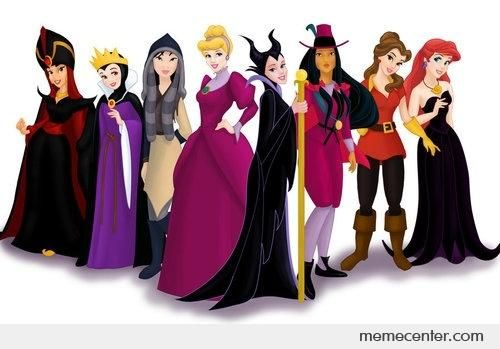 Disney Princesses as their movie villains by ben - Meme Center