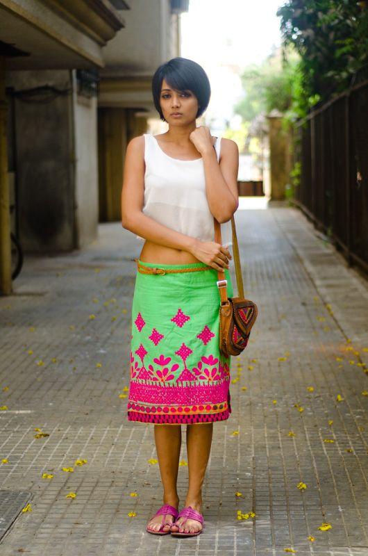 Meera, Mumbai.....street chic