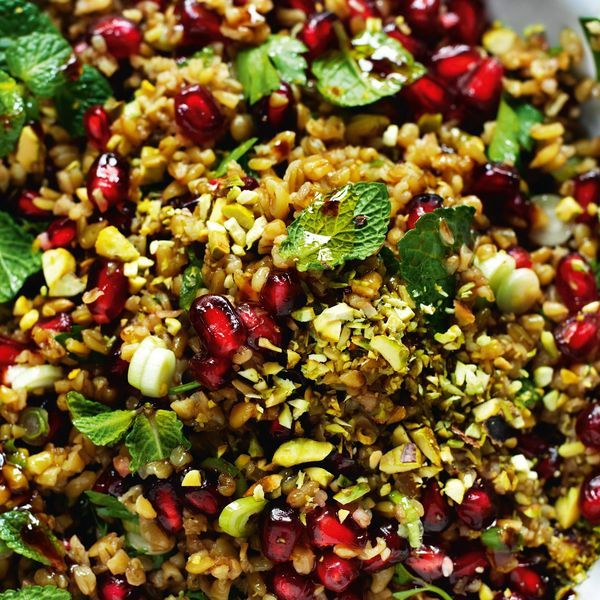 Freekeh Salad - The Happy Foodie
