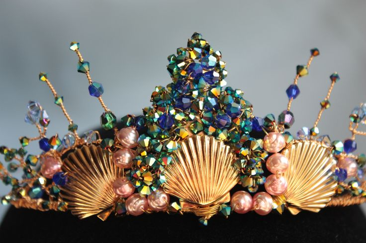 Seashell tiara by Samantha Walden