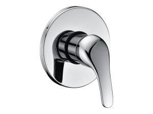 Wall mixer for shower and/or bath