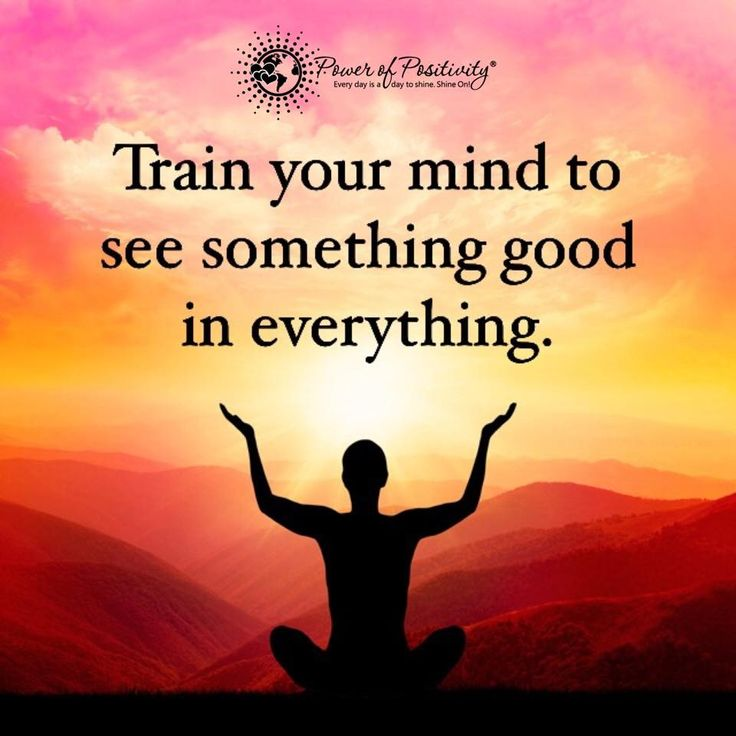 Train your mind to see something good in everything. #powerofpositivity