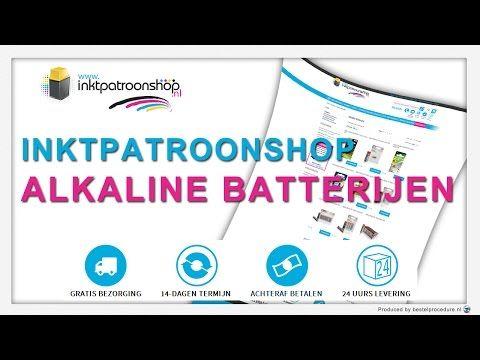 Alkaline batterijen   Inktpatroonshop - YouTube