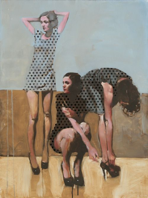 Michael Carson - Contemporary Artist - Figurative Painting