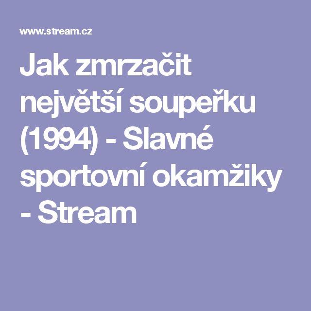 Jak zmrzačit největší soupeřku (1994) - Slavné sportovní okamžiky - Stream