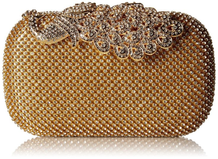 HMaking Bling Peacock Clutch Purse Rhinestones Crystal Evening Clutch Bags (gold). Luxuriously beaded rhinestones clutch evening bag. Well crafted and high quality handmade. The approximate size is 6.7 x 2.6 x 4.1 inches. Ideal gift for your girl,lover and friend. Easy to match and suitable for every style of clothes.