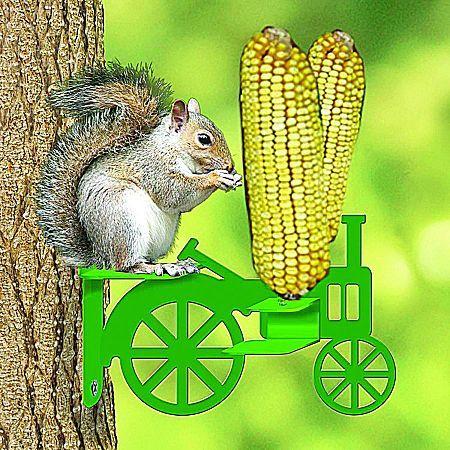 Tractor Corn Cob Squirrel Feeder
