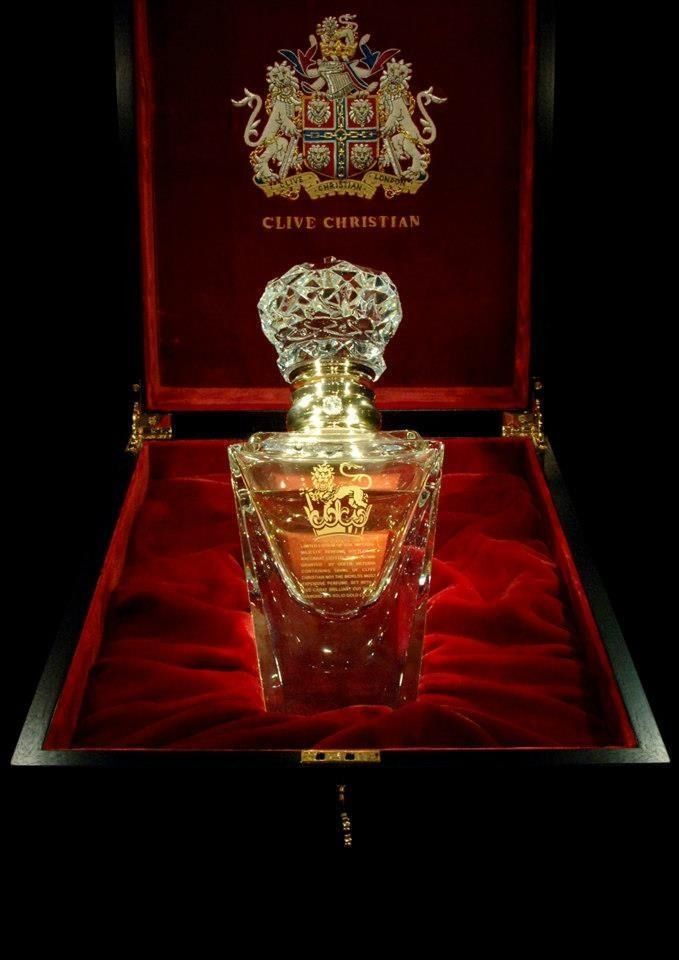 Most expensive perfume in the world.... Clive Christian