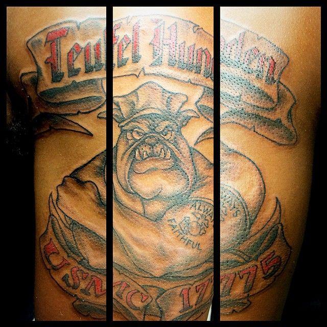 R Lee Ermey Tattoo 1000+ ideas about Usmc...