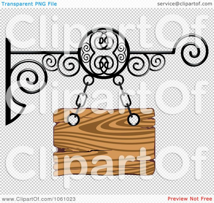 Royalty-Free-Vector-Clip-Art-Illustration-Of-A-3d-Wooden-Store-Front-Shingle-Sign-With-Wrought-Iron-10241061023.jpg 1,080×1,024 pixels
