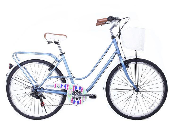 City Mujer/Denim lista para ser llevada en gamabikes.com #NuevaTemporadaGama #gamabikes #bici #bicicleta #deporte #urbano