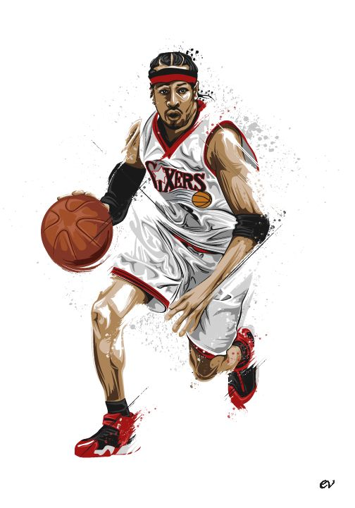 Allen Iverson by earlsonvios on deviantART
