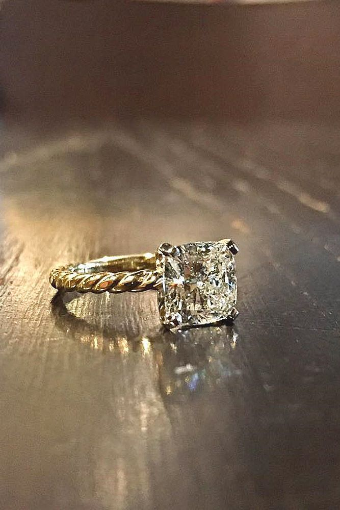 diamond princess cut engagement rings 2