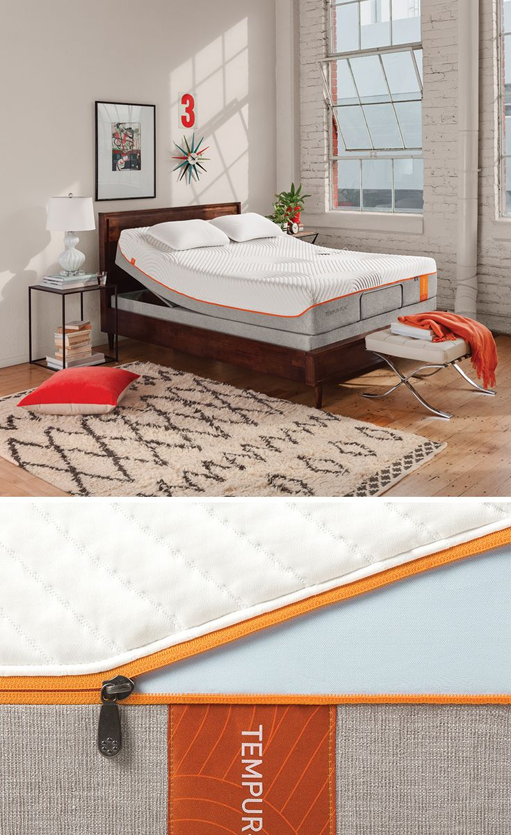 Tempur Contour Elite Breeze Is Designed To Be Firmly Supportive And Comfortable For All Types Of Sleepers Back Side And Stoma Best Mattress Sleep Comfortably