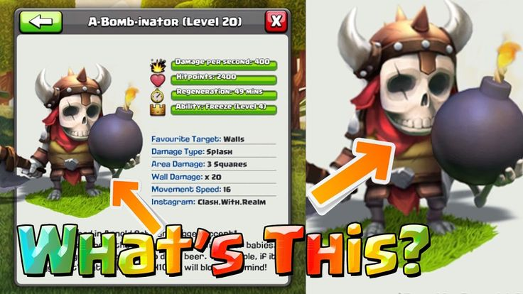 Clash Of Clans New Update December 2016. Clash Of Clans New Troops Ideas for upcoming COC New Update December 2016. Upcoming COC New Update 2016. New Troops Ideas Of Clash Of Clans For December 2016 Update.    Watch more Clash Of Clans New Update Videos: https://www.youtube.com/watch?v=1Xsc2t1mMR8&list=PLKSQ2WcmIpM32k3FfTRDUm4JddJ4jwHlx&index=8   What are we going to get in this video?  Clash Of Clans New Update December 2016 Ideas  Clash Of Clans New Troops Ideas  COC New Troops Ideas…