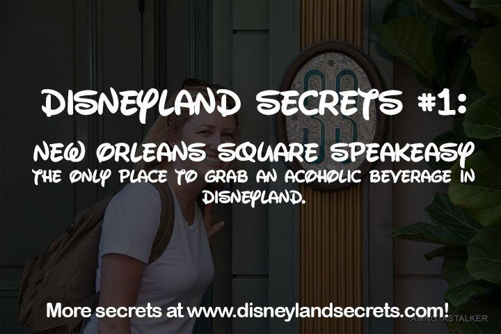 Disneyland Secrets #1: Speakeasy