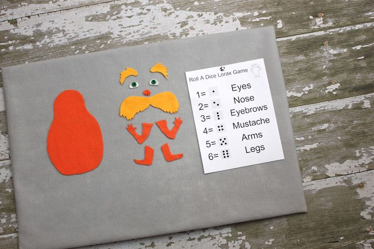 Dr. Seuss Crafts to Celebrate the Lorax