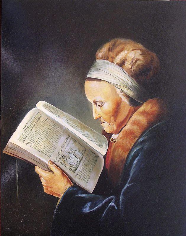 Schilderij portret - Ferry Reijnders - Olieverf op paneel - 45 x 57 cm. -